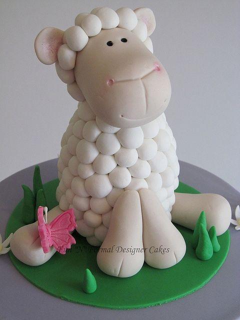Ideas de decoración de ovejas para niña (23)