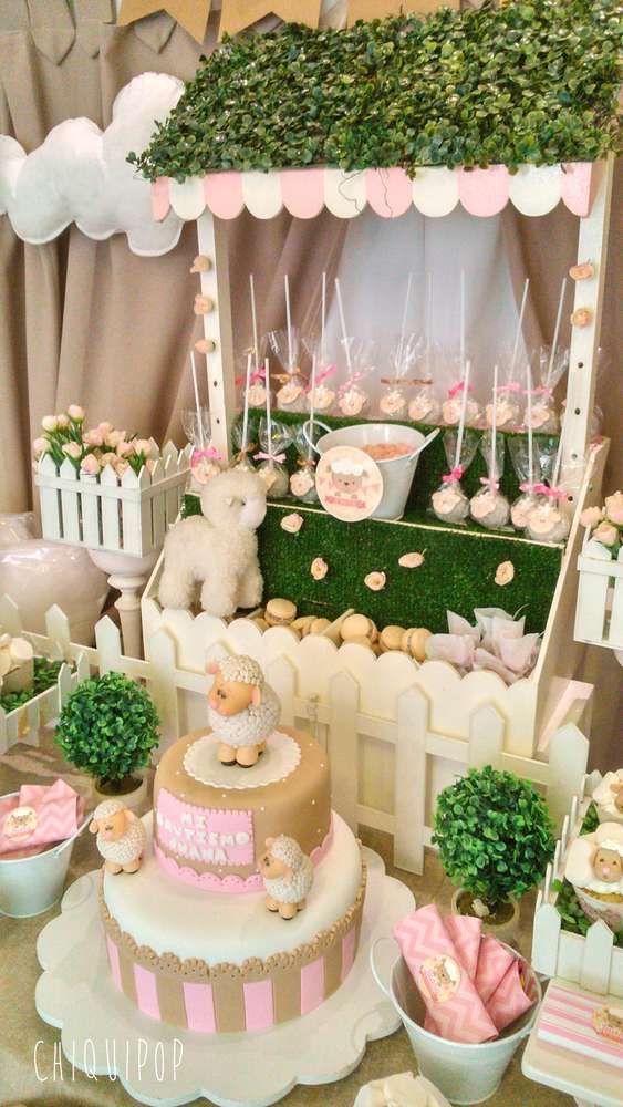 Ideas de decoración de ovejas para niña