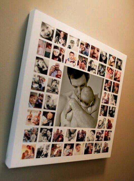 Hacer un collage de fotos o un vídeo para el día del padre