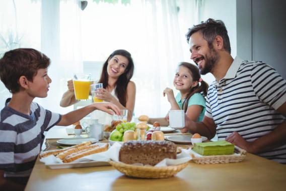 Preparar el desayuno para el día del padre