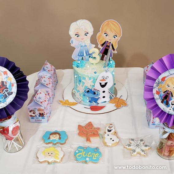 Torta decorada Frozen 2