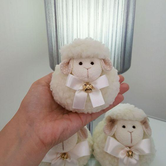 Decoración decoraciones con ovejas