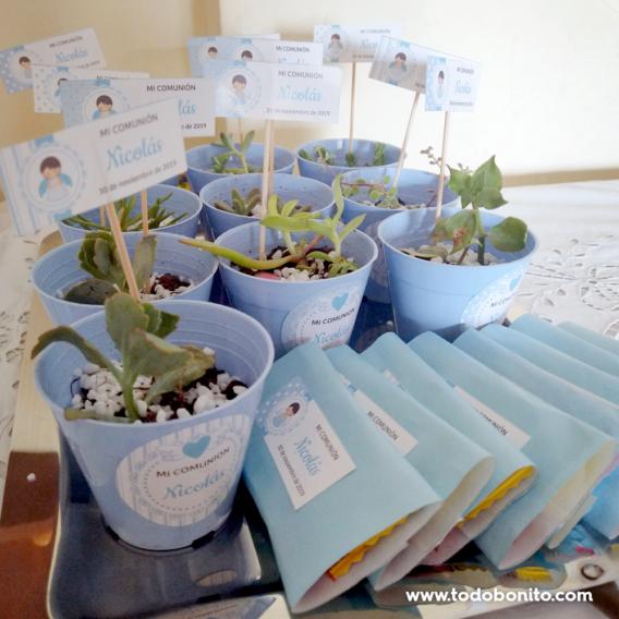 Ideas souvenirs para primera comunión