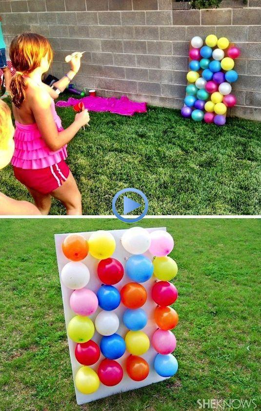 Bombas con globos
