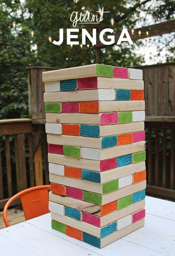 Torre de madera Jenga