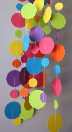 Guirnalda para decorar en el día de niño