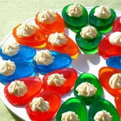 Gelatina para decorar en el día de niño