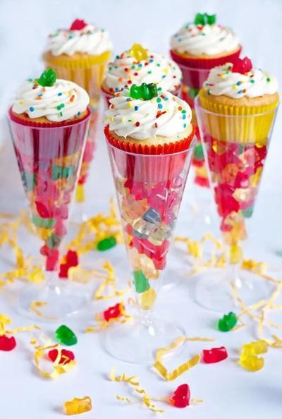 Dulces para decorar en el día de niño