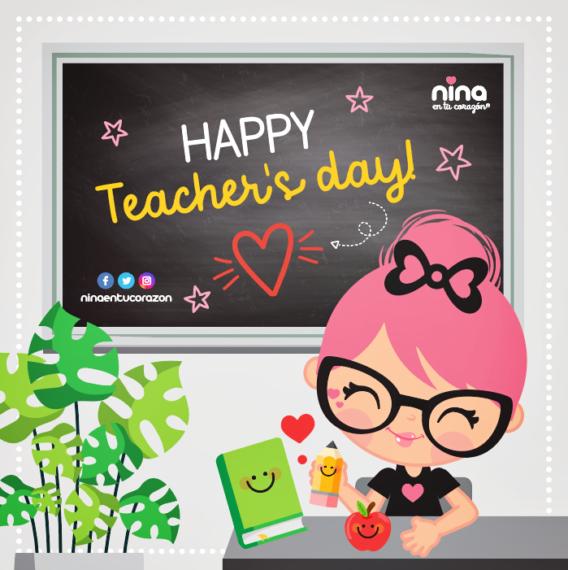 ¡Feliz día maestras y maestros!