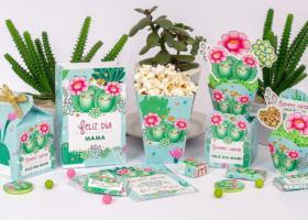 Kits imprimibles de Cactus