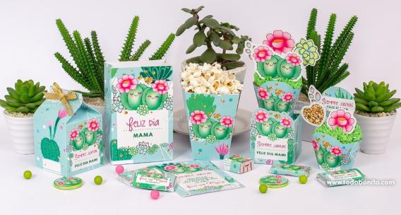 Colección imprimible de Cactus