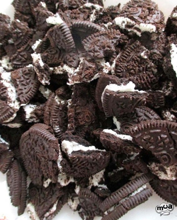 Receta de tarta helada Oreo