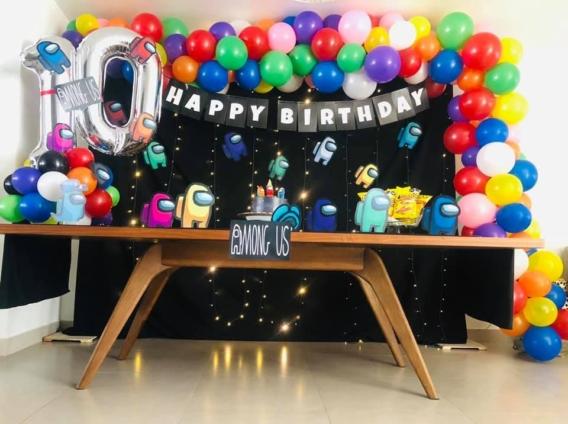 Ideas de pasteles y decoración fiesta Among Us - Todo Bonito