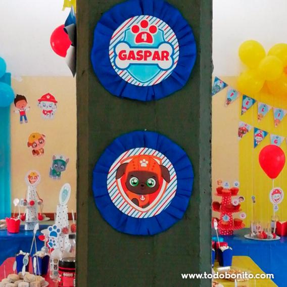 Ideas cumpleaños Paw Patrol
