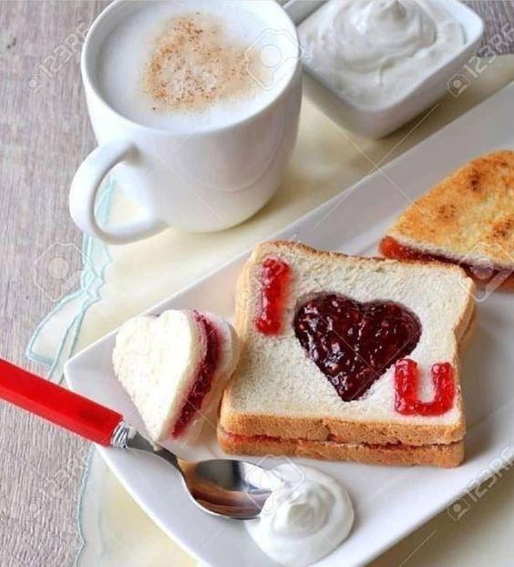 Ideas para un desayuno día de los enamorados