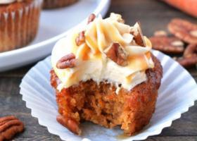 Cupcakes de zanahorias (carrot cake)