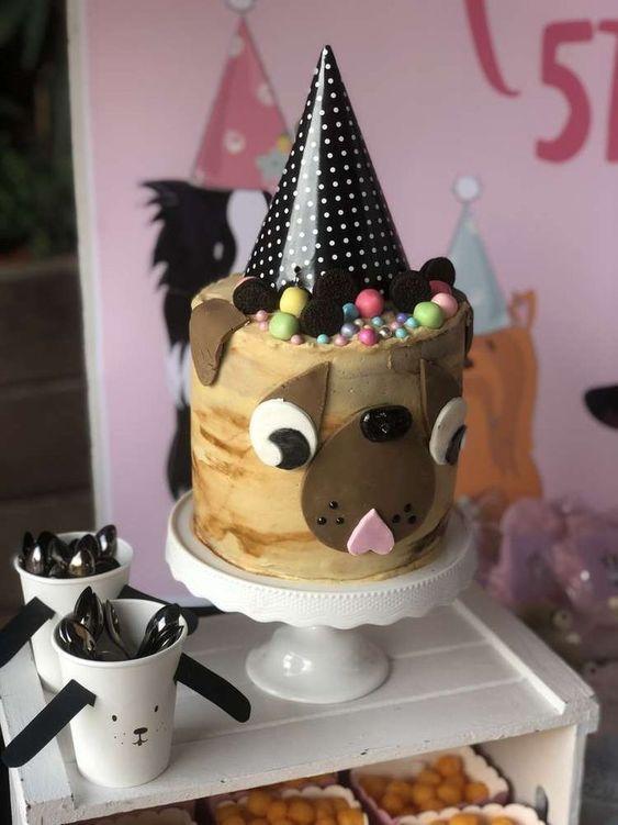 Ideas de torta para una fiesta temática de perritos