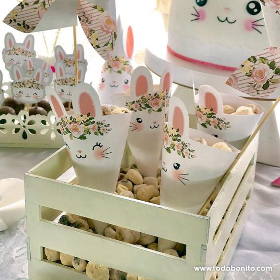 Mesa dulce de conejita Todo Bonito