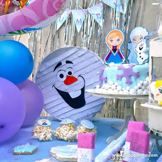 Kit imprimible de Frozen de Todo Bonito