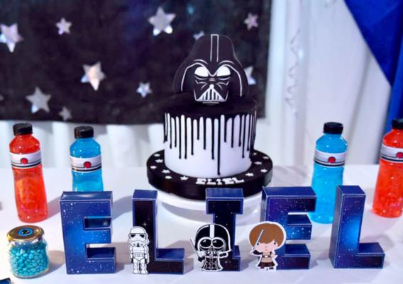 Mesa dulce de Star Wars para Eliel