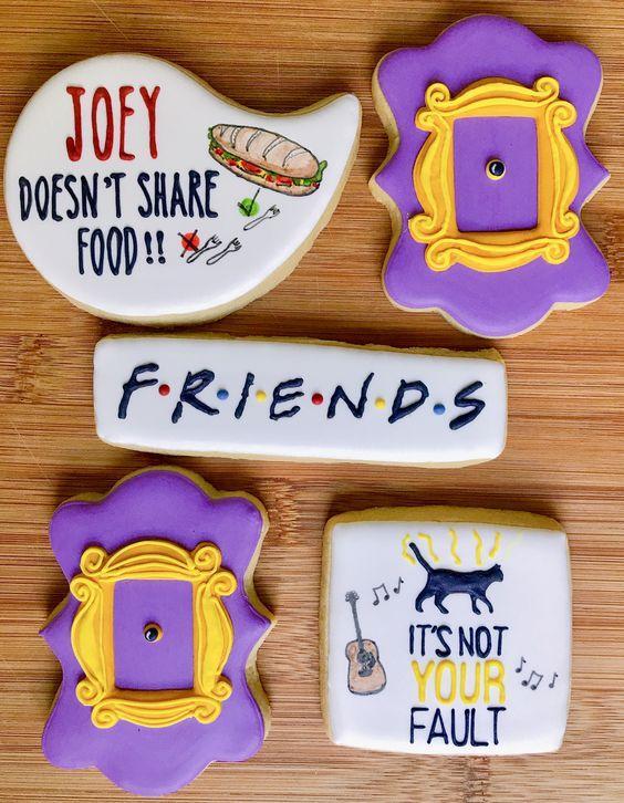 Ideas galletas serie tv Friends
