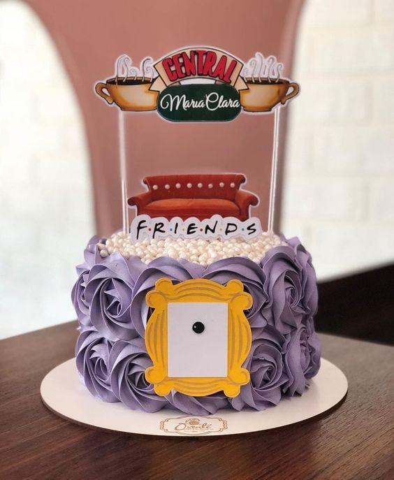 Torta de la serie Friends