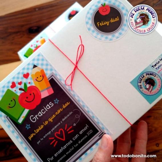 Ideas para regalar: cajas sorpresa para el día del maestro
