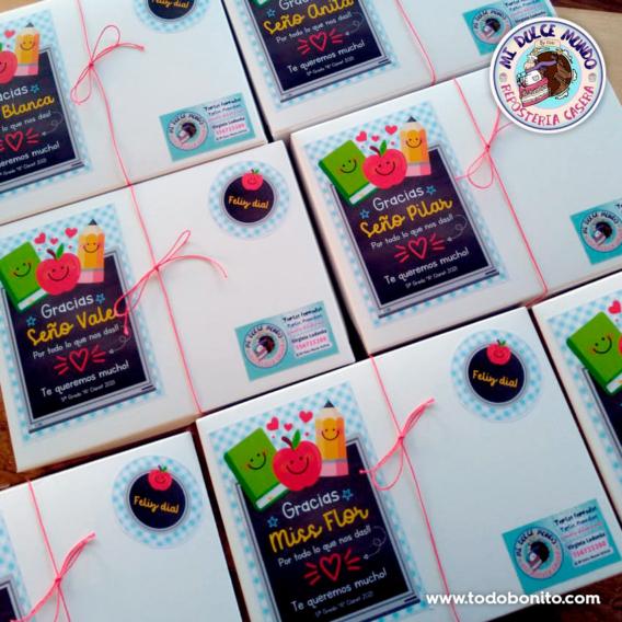 Cajas decoradas para el día del maestro