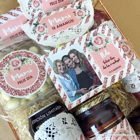 Cómo decorar una caja sorpresa para el día de la madre