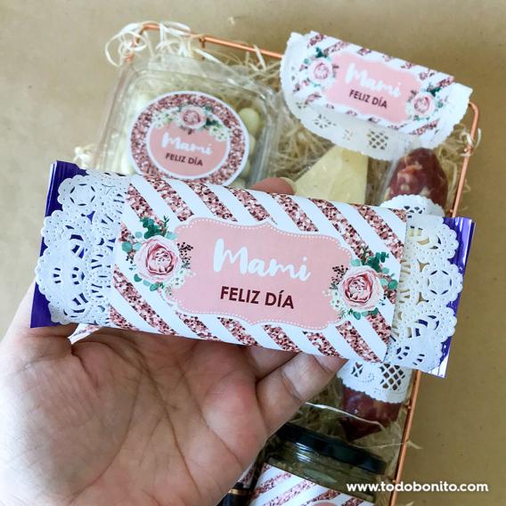 Chocolate personalizado para el día de la madre