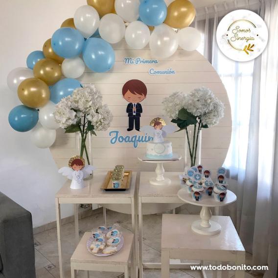 Mesa dulce de Primera Comunión de niños