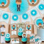 Kits imprimibles de Primera Comunión para niños