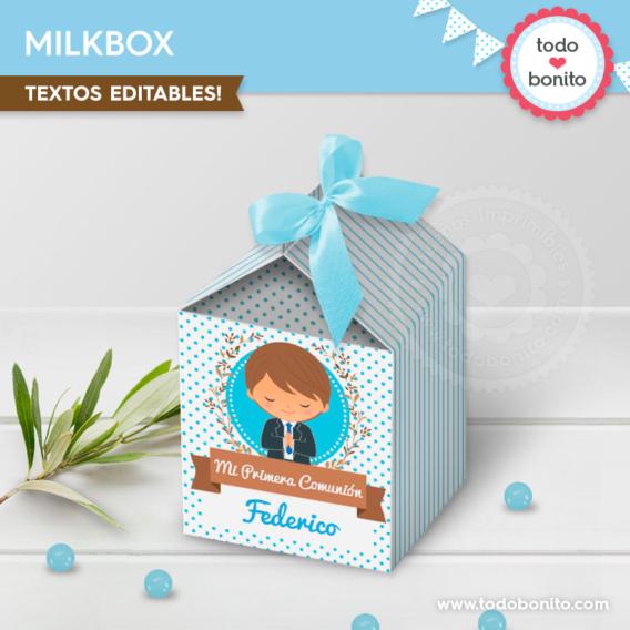 Milkbox Primera Comunión para niños